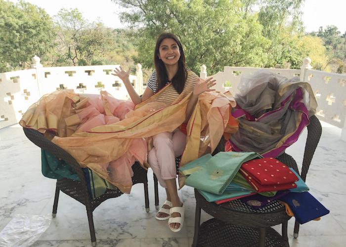 Anushka's love for Chanderi revealed!