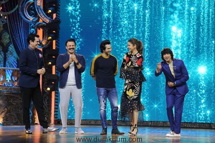 Anushka Sharma, Variun Dhavan, Vivek Oberoi, Shantanu Maheshwari and Omung Kumar