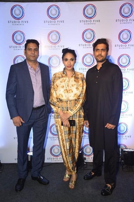 Arjun N Kapoor ,Om Prakash Bhatt, and Prernaa Arora