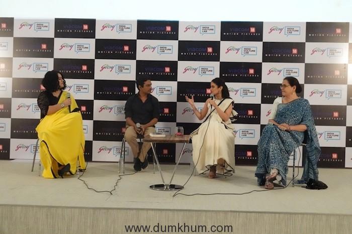 Godrej India Culture Lab's Manto Now panel with Nazia Erum, Nawazuddin Siddiqui, Rasika Dugal and Rakhshanda Jalil