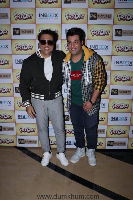 Govinda and Varun Sharma