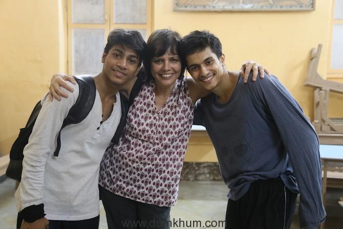Left to Right_Amir, Sooni Taraporevala and Manish
