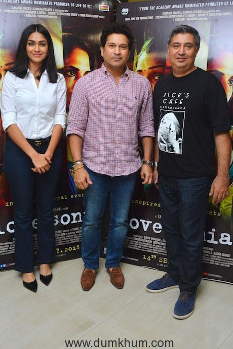 Love Sonia Special Screening for Sachin Tendulkar 002