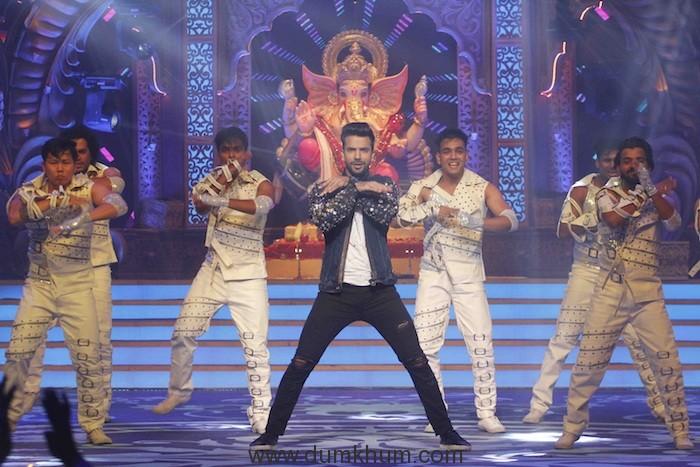 Manit Joura performing at Zee TV's Kundali Bhagya- Ganesh Utsav