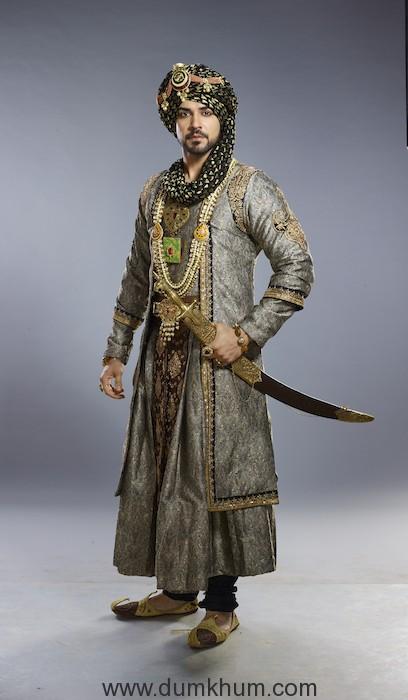 Piyush Sahdev as Abu Fazl in COLORS Dastaan-E-Mohabbat Salim Anarkali