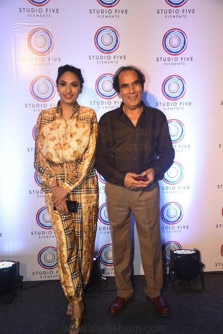 Prernaa Arora & Father