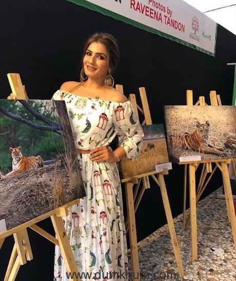 RAVEENA TANDON SHARES ORIGINAL PHOTOGRAPHY TO SUPPORT LEOPARD ADOPTION AT SANJAY GANDHI NATIONAL PARK
