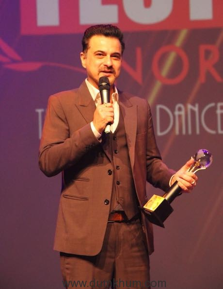 Sanjay Kapoor receives an award for Lust Stories in Norway-