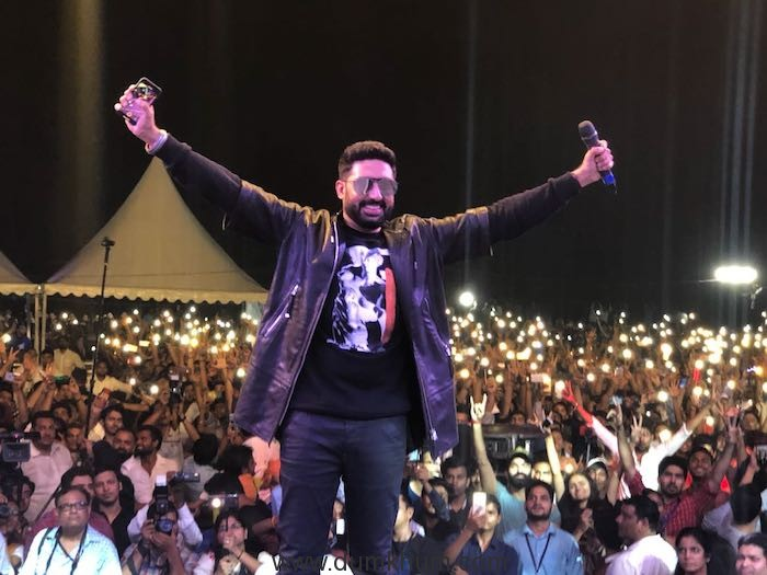 The Manmarziyaan concert rocks Delhi !