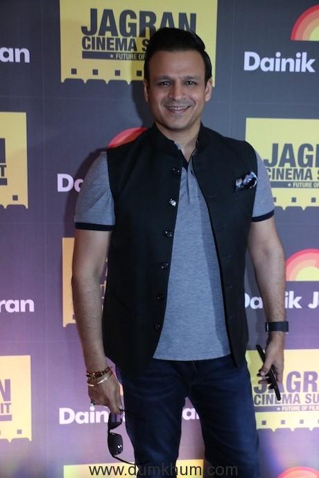 Vivek Oberoi at the Jagran Cinema Summit 2017 (1)