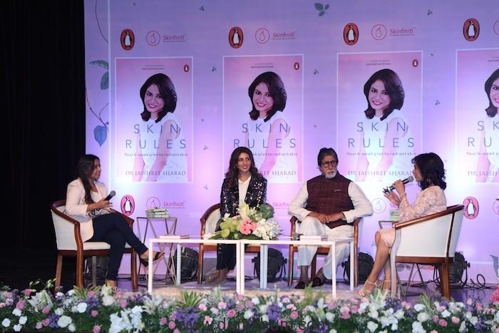 Amitabh Bachchan launches 'Skin Rules' by Dr.Jaishree Sharad-