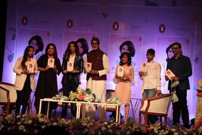 Amitabh Bachchan launches 'Skin Rules' by Dr.Jaishree Sharad