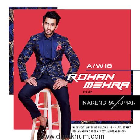 Baazaar actor Rohan Mehra bags his first brand campaign-
