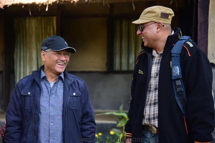 Director Jahnu Barua and Producer Shahnaab Alam