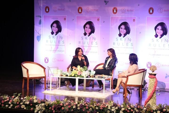 Farha Khan 'Skin Rules' by Dr.Jaishree Sharad