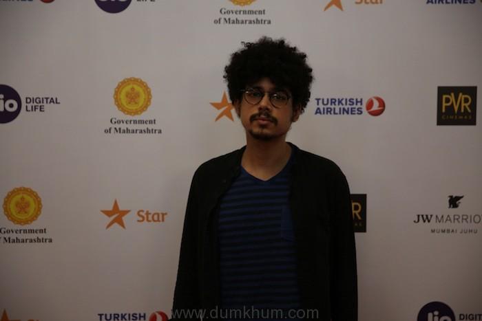 Imaad Shah at the Jio Mami 20th Mumbai Film Festival with Star