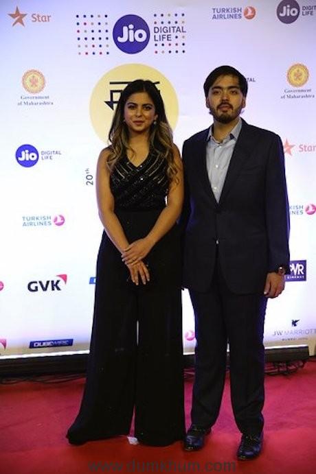 Isha and Anant Ambani