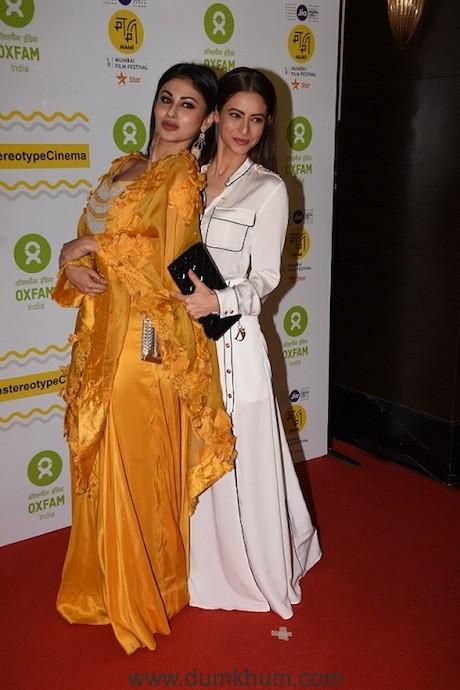 Mouni Roy and Aamna Sharif