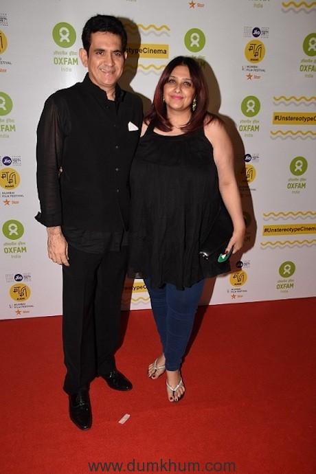 Omung Kumar with wife Vanita