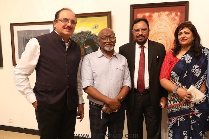 Internationally acclaimed artist Bose Krishnamachari inaugurates IndianOil's 'The Canvas Code'