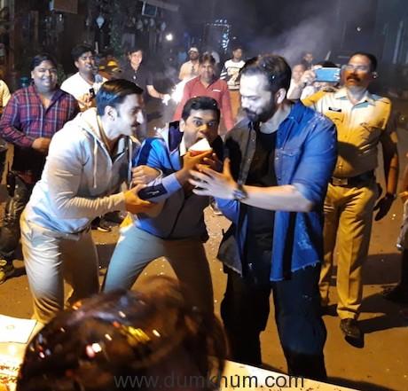 Ranveer-Rohit celebrates Siddharth Jadhav's B'day !! Superstar-