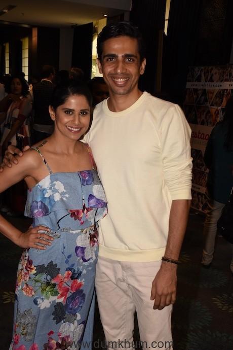 Sai Tamhankar and Gulshan Devaiah