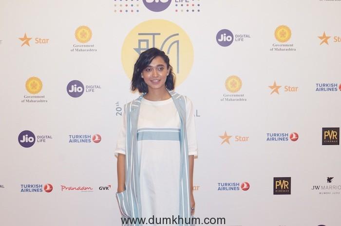 Sayani Gupta at Jio MAMI 20th Mumbai Film Festival with Star