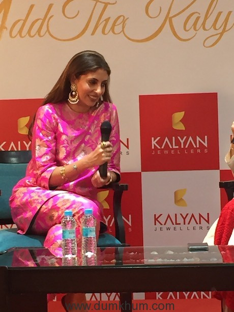 Kalyan Jewellers hosts exclusive evening with Shweta Bachchan Nanda at Ludhiana showroom