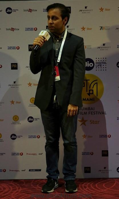 Soni Director Ivan Ayr at red carpet at Jio MAMI 20th Mumbai Film Festival with Star
