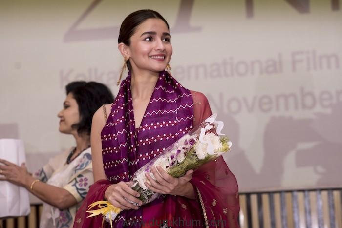 Alia Bhatt opens 'Yours Truly' at Kolkata International Film Festival