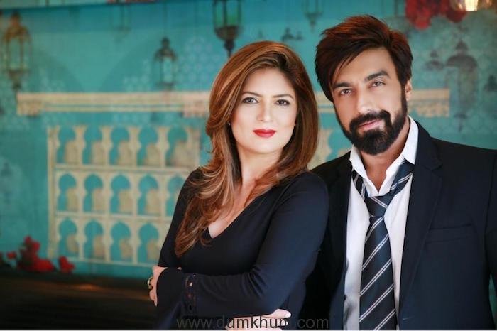 Ashish Chowdhry & Deepa Pardasany joins hands for Hindustan Talkies!