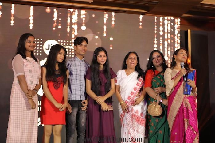 India Gold - Golden Gateway award winners - Bulbul Can Sing crew with Dir, Rima Das at.JPG