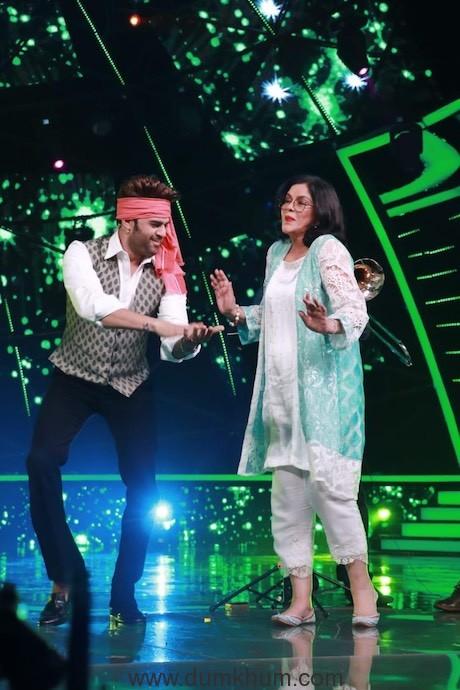 Manish Paul - Zeenat Aman (2)