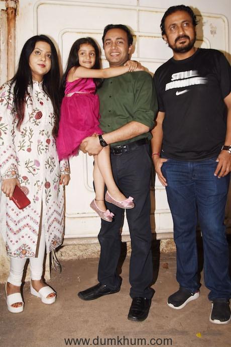 Mrs Amruta Fadnavis - Film Pihu Screening 01