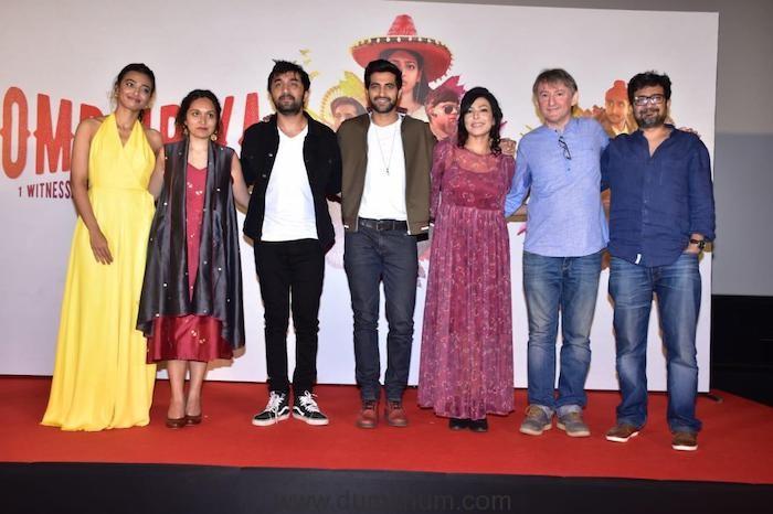 Radhika Apte - Bombairiya trailer launch-1