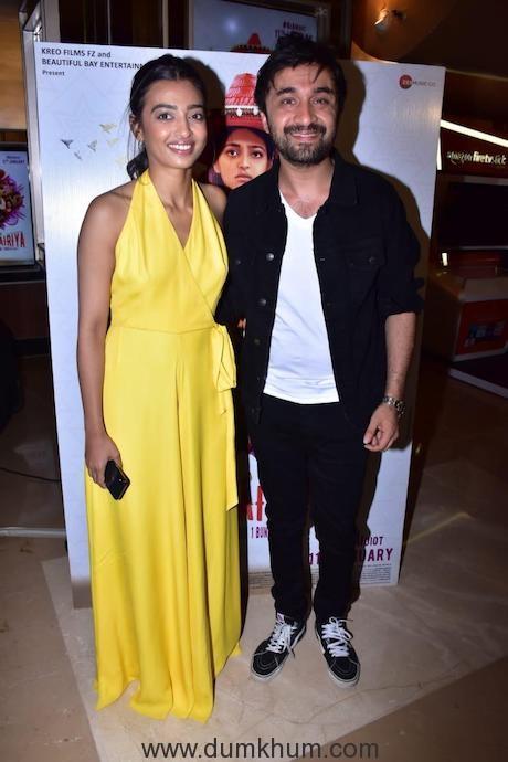 Radhika Apte - Siddhant Kapoor - Bombairiya trailer launch