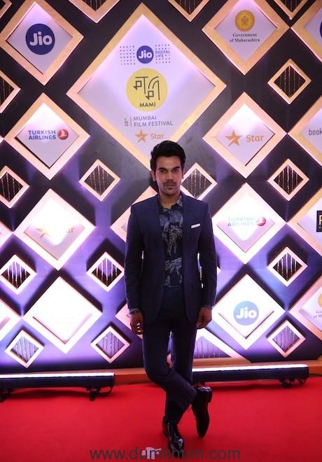 Rajkumar Rao at the closing ceremony of Jio MAMI 20th Mumbai Film Festival with Star.JPG