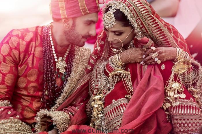 Here are Ranveer & Deepika wedding Images