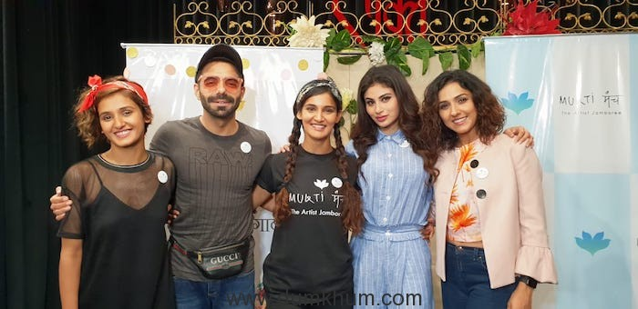 Mukti Mohan celebrated Children's day with Mouni Roy and kids