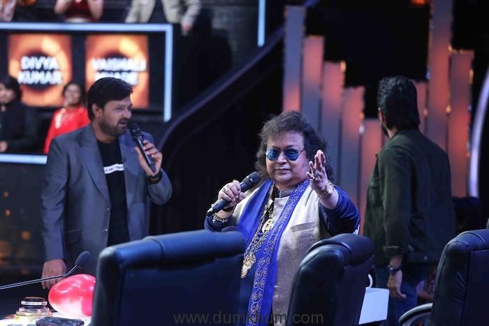 Veteran singer Bappi Lahri on Sa Re Ga Ma Pa