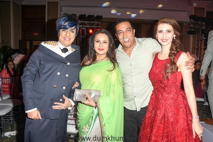 011. Rohit Verma with Poonam Dhillon Vindu Darta Singh and Claudia DSC_0528