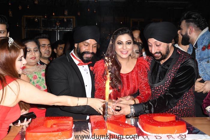 34. Gurpreet Kaur Chadha celebrating her Birthday DSC_8756