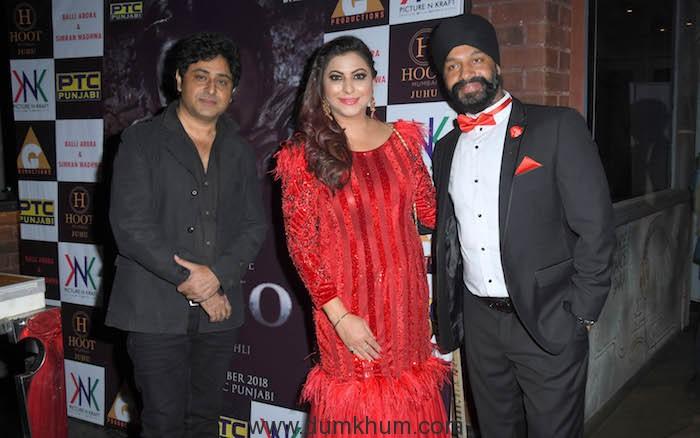 8. Sahil Kohli (Director RAJJO) Gurpreet Kaur Chadha with Balli Arora (Producer RAJJO) DSC_8296