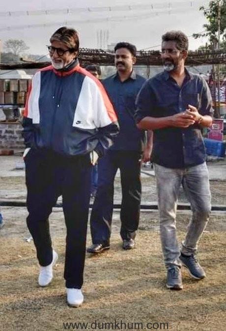 Amitabh Bachchan starts shooting for Bhushan Kumar & Nagraj Manjule's Jhund in Nagpur-1