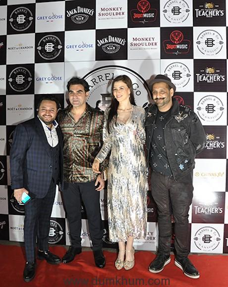 Anil, Arbaaz Khan, Georgia Andriani & Suved Lohia