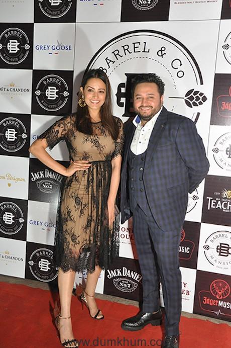 Anita Hassanandani & Anil