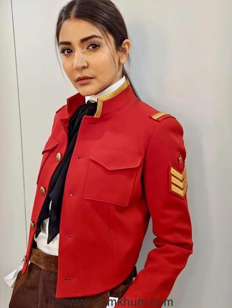 ANUSHKA SHARMA WEARS POLO RALPH LAUREN