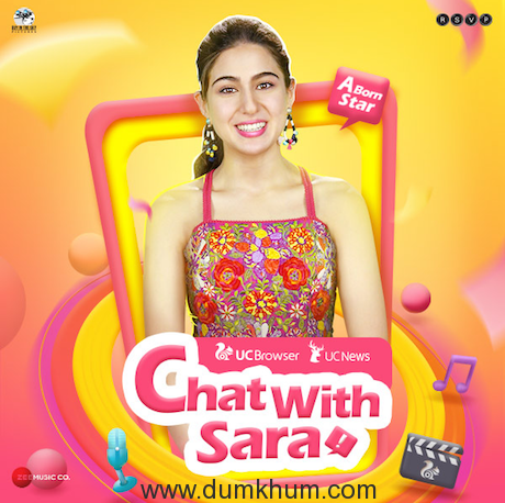Bollywood Sensation Sara Ali Khan Makes Live Chat Debut with UCWeb