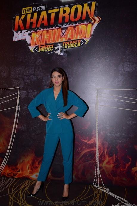 Jasmine Bhasin at the launch of COLORS Khatron Ke Khiladi