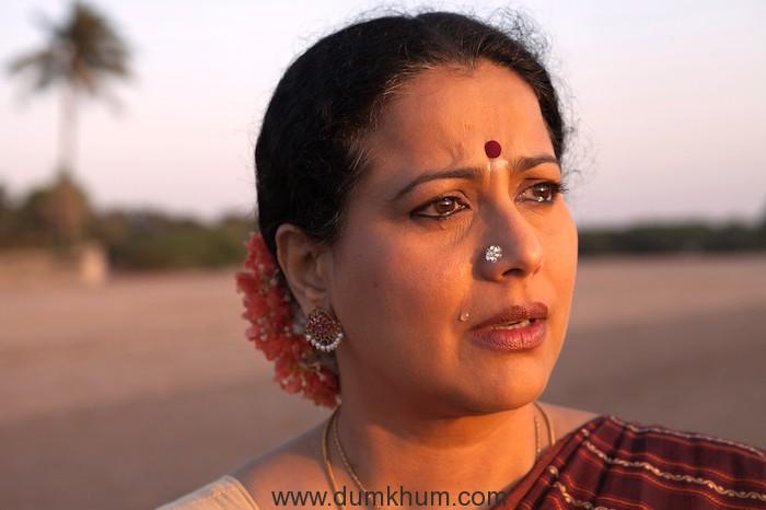 Mona Ambegaonkar in film Evening Shadows